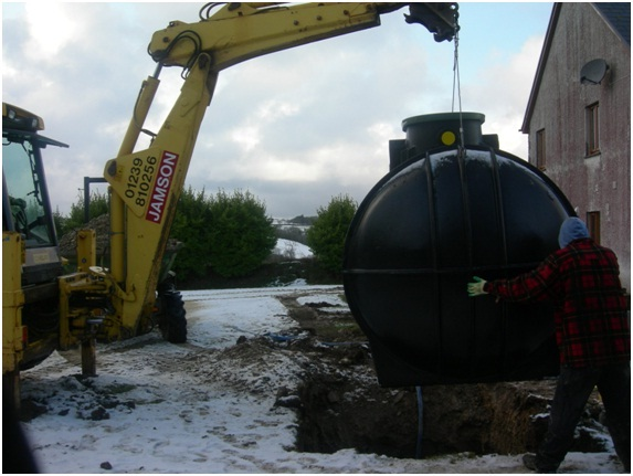 Installation of Rain Water Recycling System
